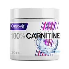 Ostrovit - L-Carnitine - 210g, Diät, Fettabbau, Fettburner, Abnehmen
