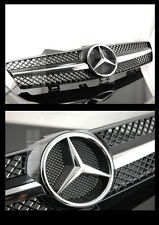 MERCEDES W219 BLACK CLS350 CLS500 SPORTS GRILLE CLS 1FIN TUNING STAR GRILL MESH