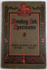 Printing Ink Specimens HC Book