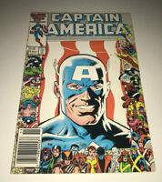 Captain America #323 John Walker 1st App US Agent Newsstand Varaint Marvel Comic