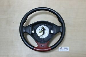 BMW E36 M Black & Red Leather Sport Steering wheel