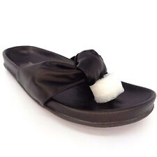 Very Volatile Glaze Black Women Sandal Size 9 AL5645
