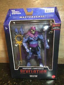 MASTERS OF THE UNIVERSE REVELATION MASTERVERSE SKELETOR IN HAND!