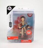 Disney Star Wars The Last Jedi Toybox Rey Exclusive Action Figure LightSaber NIB