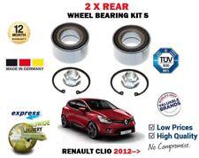 PER RENAULT CLIO 0.9 1.2 1.5 dCi 1.6 2012- > 2 x cuscinetto ruota Posteriore KIT