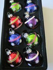 Lot of 8 Christopher Radko Christmas Ornaments New in Box Celebrations by Radko