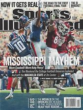 New! SPORTS ILLUSTRATED SI MISSISSIPPI STATE~OLE MISS 10/13/14 2014 No Label