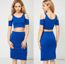 Elastane Top Suits & Tailoring for Women with 2 Pieces