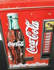 Vintage Coca-Cola Vending Machine Coin Bank Tin