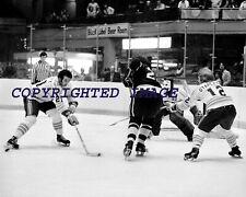 Chicago Cougars WHA Hockey Mavety - Stapleton - Newton   B+W 8X10 E