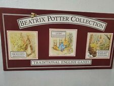Beatrix Potter Collection Traditional English Game Draughts Ludo Paths & Burrows