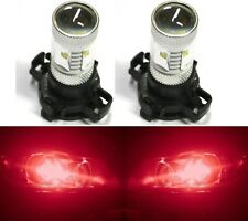 LED 30W 12190 5200 PY24W Red Two Bulbs Light Turn Signal Replace Show Use