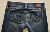 AG Adriano Goldschmied The Dillan Womens Denim Blue Jeans Size 29 x 31 Boot Cut