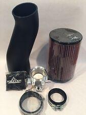 Yamaha Raptor 700 58mm Billet Throttle Body K&N Air Filter Intake Kit 08-14 KN