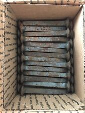 10 New and never used Railroad Spikes  6 3/4