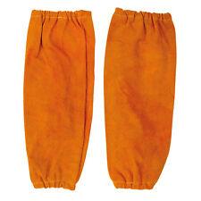 Portwest Men Leather Welding Sleeves Tan Color SW20
