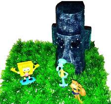 Thaddäus Haus Spongebob Aquarium Dekoration Deko Figuren Sandy Geschenkidee
