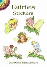 FAIRIES STICKERS, Dover, acid-free, 26 delicate & sweet designs, flowers, wings