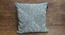 Cynthia Rowley Decorative Pillow Gray Beaded