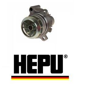 HEPU Germany Metal Impeller Water Pump For VW Audi Jetta GTI Passat Eos A4