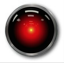 HAL 9000 - 1 inch / 25mm Button Badge - Cute Novelty 2001 Space Odyssey Kubrick