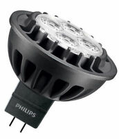 1X Philips Master LED MR16 (GU5.3) 7W DIMMABLE in 3000K RETROFIT 60D 440 lumens