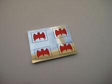 Corgi 267 Batmobile [ Red Chrome ] Stickers - B2G1F