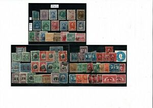 N212 US Possessions: Hawaii, Canal Zone ovpts on 3cards sound M&U FREE SHIPPING!