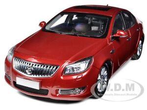 2010 BUICK REGAL 2.4L RED JEWEL TINTCOAT 1/18 DIECAST MODEL CAR BY SUNTRADE 1060