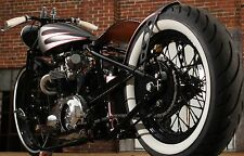 triumph bolt on hard tail frame unit 650 tr6 bobber chopper cafe custom frame