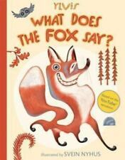 What Does the Fox Say? (Hardback or Cased Book)