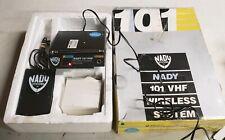 Nady 101-VHF Wireless System-Microphone