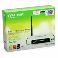 TP Link MR3220 Wireless N 802.11b/g/n Router - USB 3G/3.75G WWAN Modem Failover