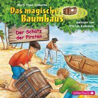 DAS MAGISCHE BAUMHAUS-DER SCHATZ DER PIRATEN BD. - POPE OSBORNE,MARY   CD NEW