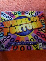 Video Game PC Wheel of Fortune America's Game 2003