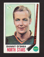Danny O'Shea Minnesota North Stars 1969-70 Topps Hockey Card #131 EX