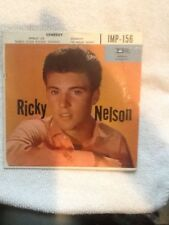 """(EP) 45 """"Someday"""" - Ricky Nelson w/Hard Cover Picture Sleeve - Imperial #156"""