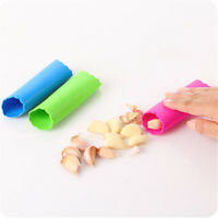 Silicone Garlic Clove Peeler Peel Stripper Tube Twist Easy Kitchen Tool Pip