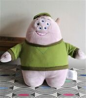 """Scott """"Squishy"""" Squibbles Monsters Inc Disney Store Stamped Soft Toy Plush 10"""""""