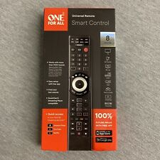 One For All Smart Control 8-Device Universal Remote Black (RC7880)