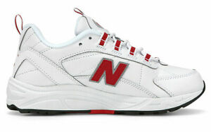 New Balance Women's Casual Shoes White/RED ML615NWR