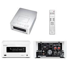 Denon CEOL Piccolo DRAN5 Network Receiver DRA-N5 White USB iPod WiFi Player HiFi