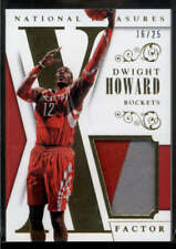 Dwight Howard Jersey Patch /25 2013-14 Panini National Treasures X-Factor Prime