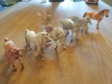 Schleich Pferde (6 Stück) Feenwelt Einhorn