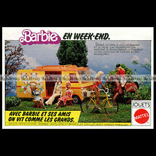 Mattel Vintage BARBIE Camping-Car - 1977 Pub / Publicité / Original Advert #B163