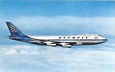 BF37870 olympic airway boeing 747 200 jumbo jet b  aviation airplane air plaine