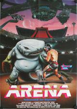 Arena Todesmatch der Giganten Filmposter Videoplakat A1 Satterfield, Marc Alaimo