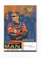 2006 High Gear MPH NUMBERED PARALLEL #M69 Jeff Burton #006/100! SCARCE!
