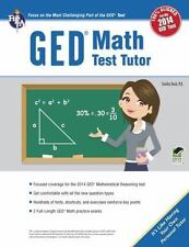 GED® Math Test Tutor, For the 2014 GED® Test: By Rush, Sandra