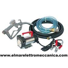 12 V CC Pompa Travaso Gasolio Portatile Elettropompa Diesel DDC 12 SET